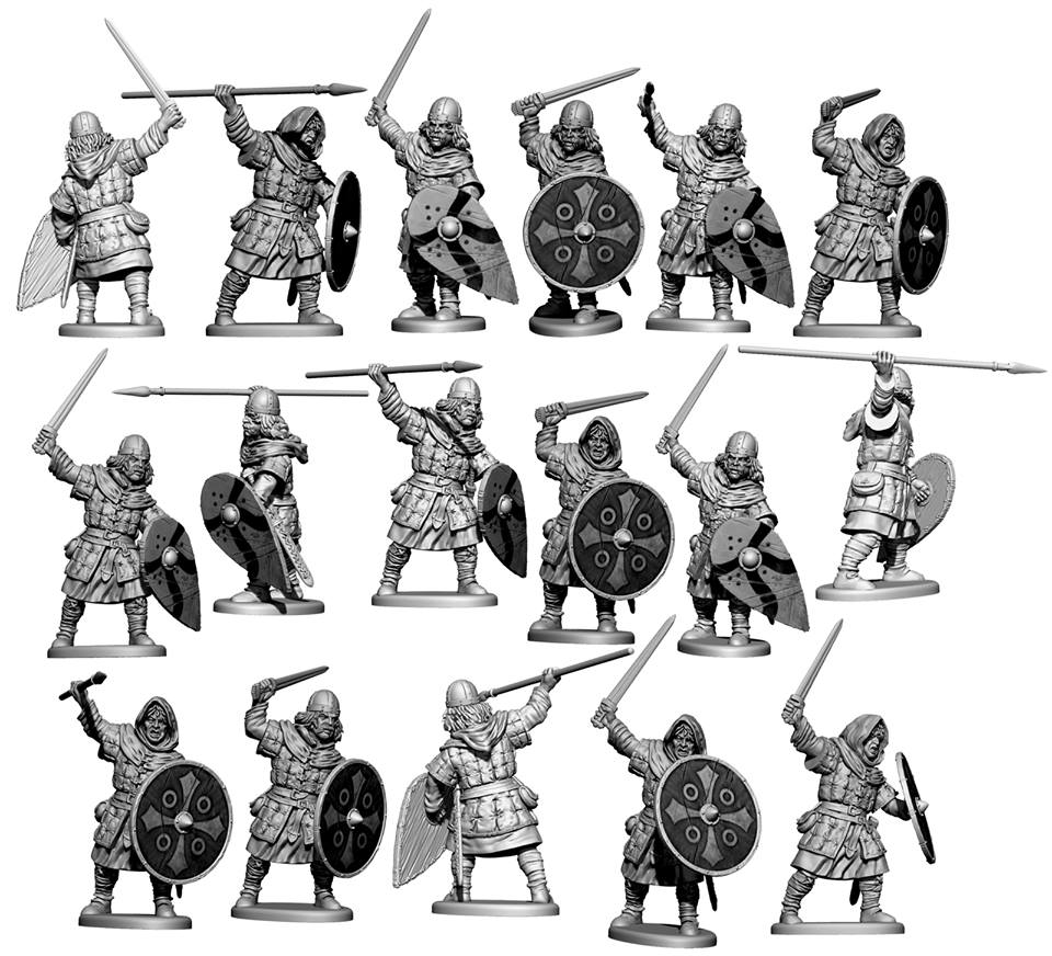 Victrix Band Together New Unarmoured Saxons For Dark Age