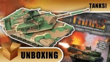 Tanks! Unboxing: The Modern Age Starter Set – M1 VS T-64