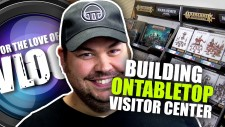 VLOG: Building OnTableTop Visitor Center