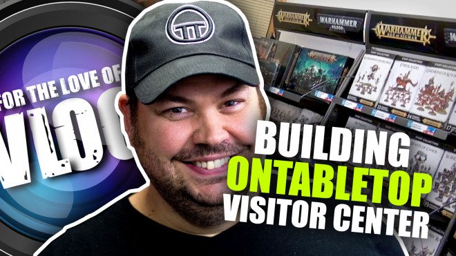 VLOG: Building The OnTableTop Visitor Centre