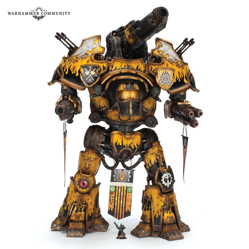 Warbringer Nemesis Titan - Forge World