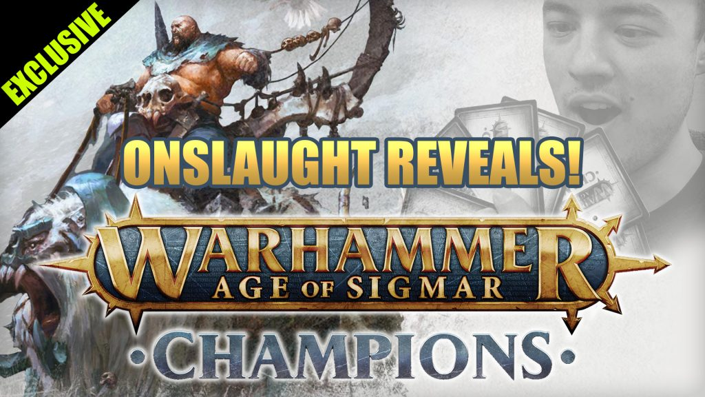 Exclusive Age of Sigmar Champions Card Reveals!