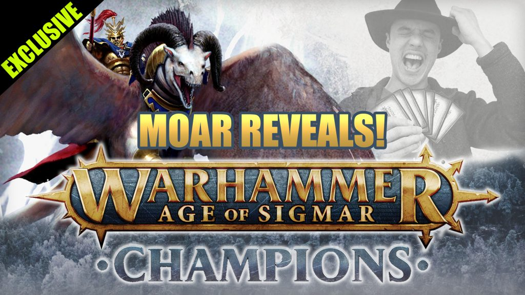 New Realm Spells And More For Age of Sigmar Champions!