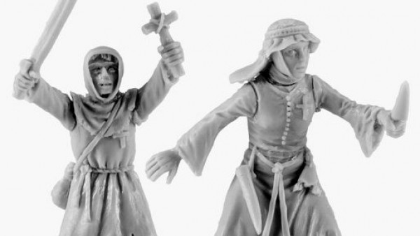 Women & Children Head Out On V&V Miniatures' Holy Crusade