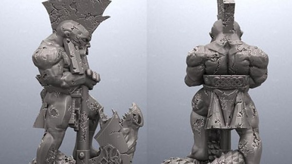 Avatars Of War Release First Ready2Print Dragonseeker Statue File