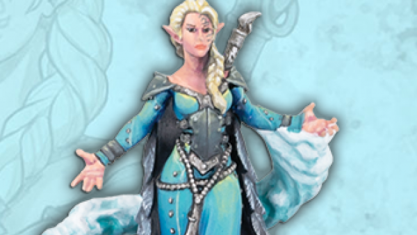 Let It Go! With New MiniCrate Ice Queen Lanyssa
