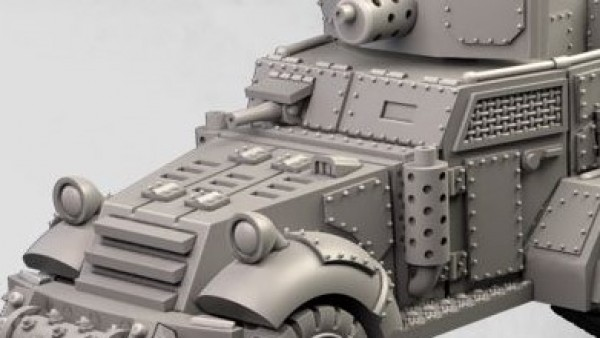 MaxMini Declare Nobzvember With Post-Apocalyptic Halftrack