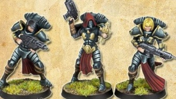 Shieldwolf Miniatures' Sisters Of Faith Plastic Set Now Available