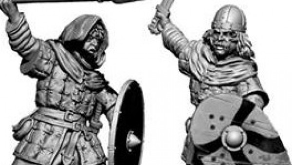 Victrix Band Together New Unarmoured Saxons For Dark Age Games