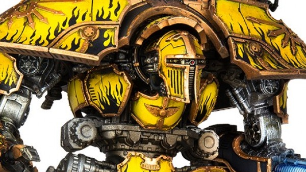 New Warlord Titan & Knight Weaponry Forged By Games Workshop