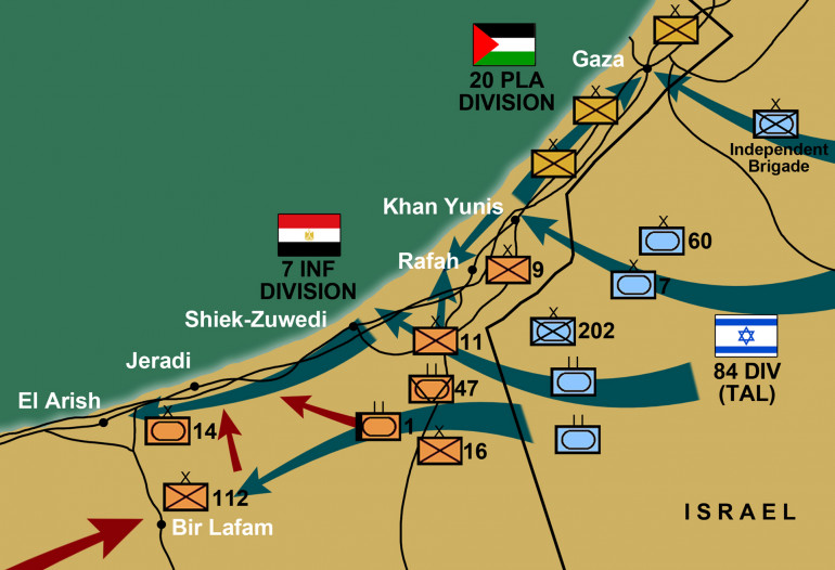 Getting ready for next Arab-Israeli Wars game