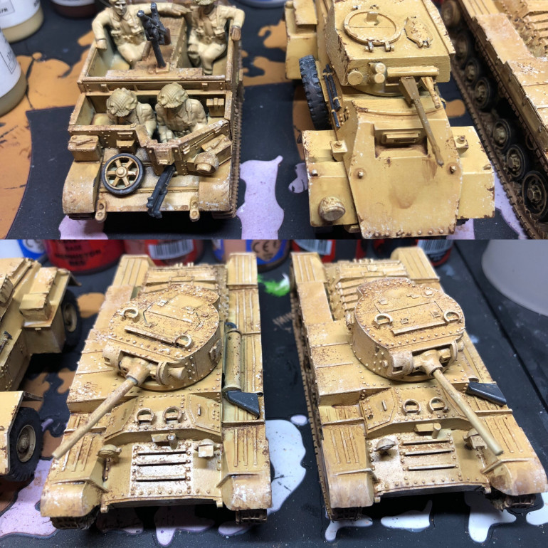 More WIP this time Tanks!
