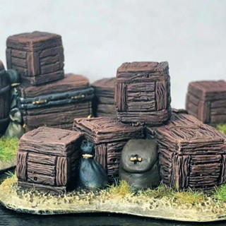 A Roman Travelling Carriage and more Scatter Terrain