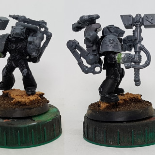 Iron Priest Test Piece & Space Wolf Model Inventory