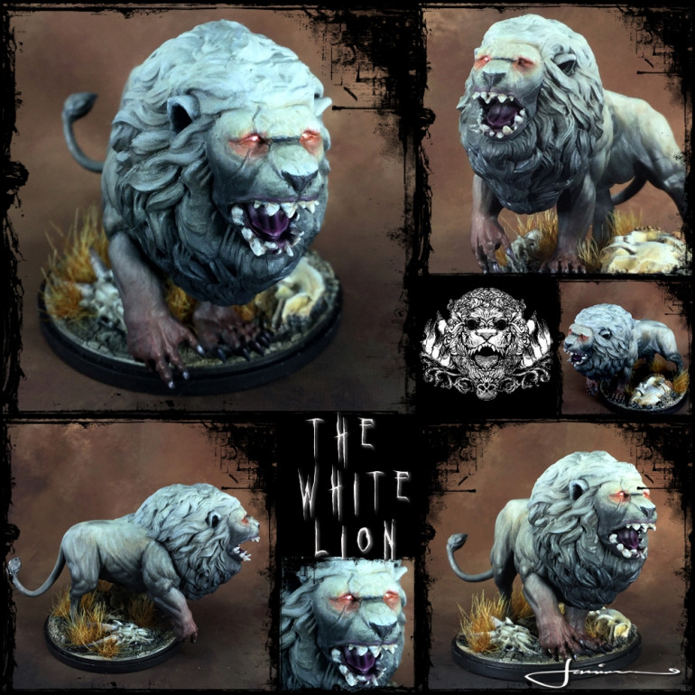The Fugly.......I mean..... White Lion