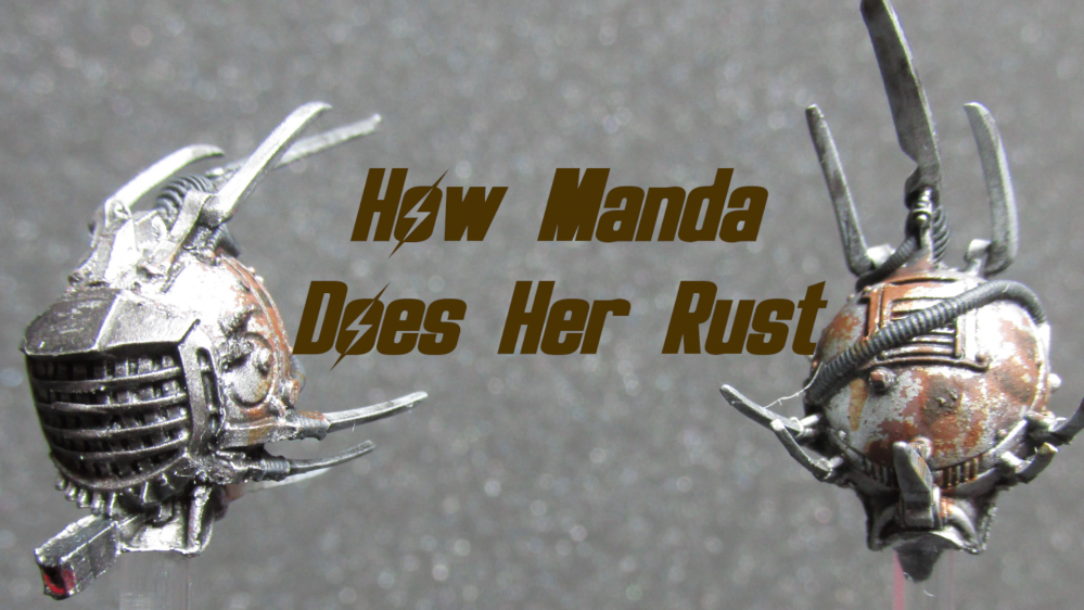How Manda (Amachan) Does Her Rust Weathering.