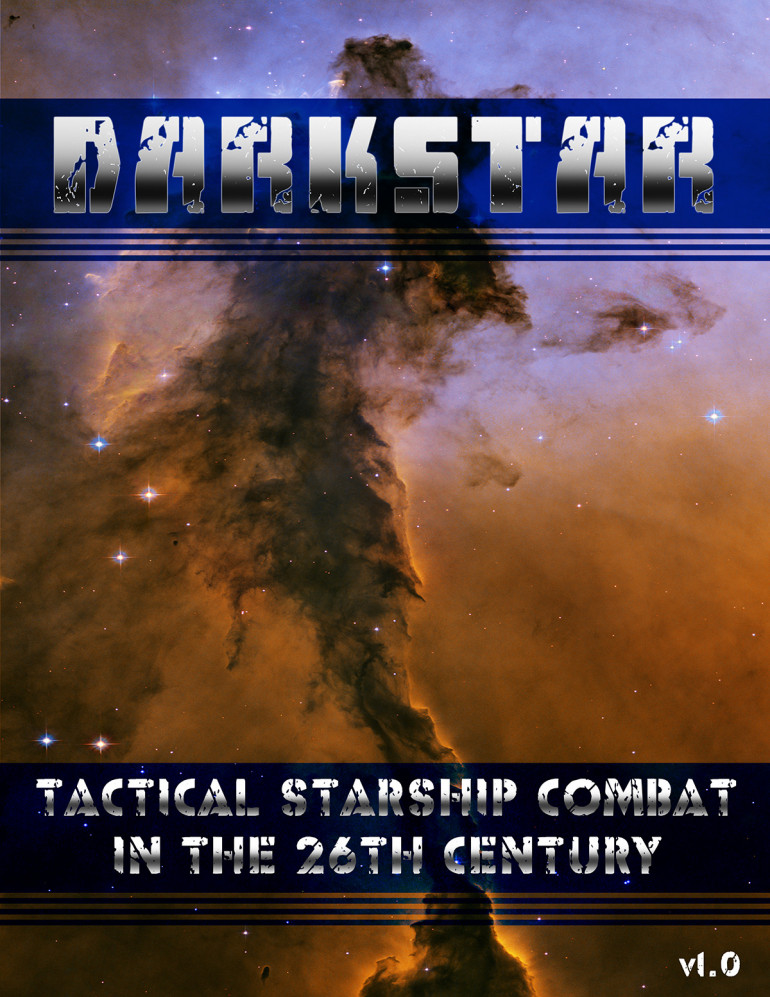DARKSTAR RULES & WARSHIPS COMPLETE