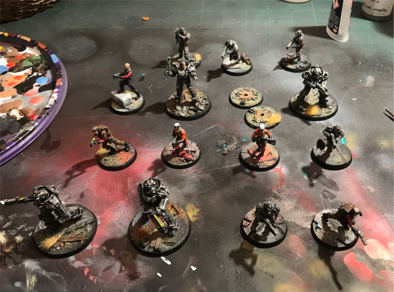 Final Add the Minis