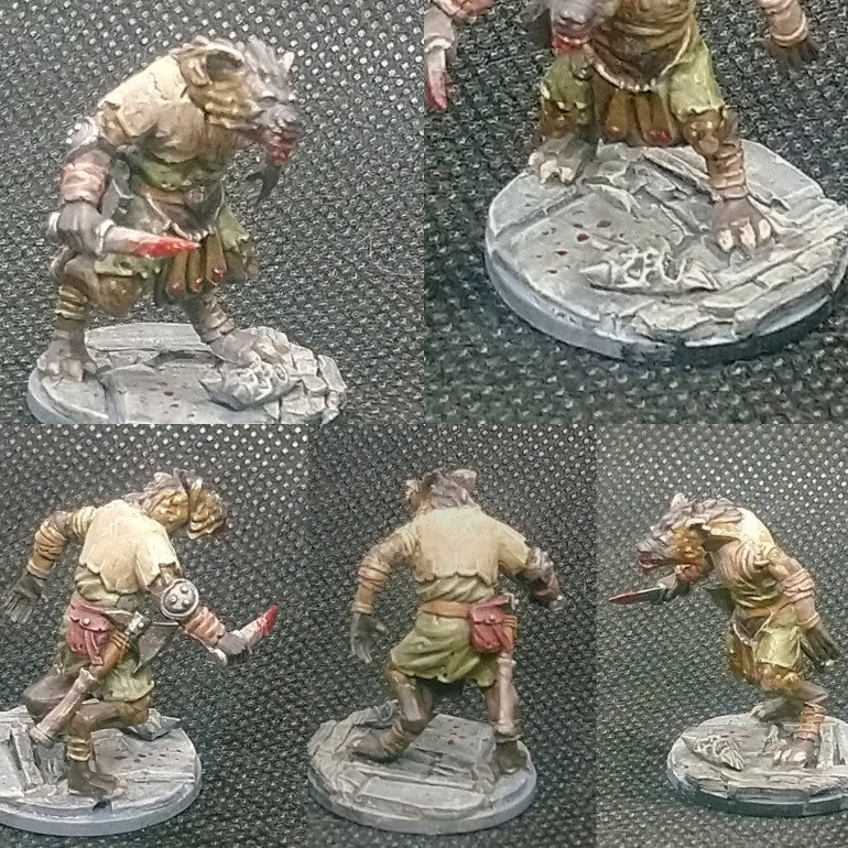 Gnoll Fighter (NorthStar)