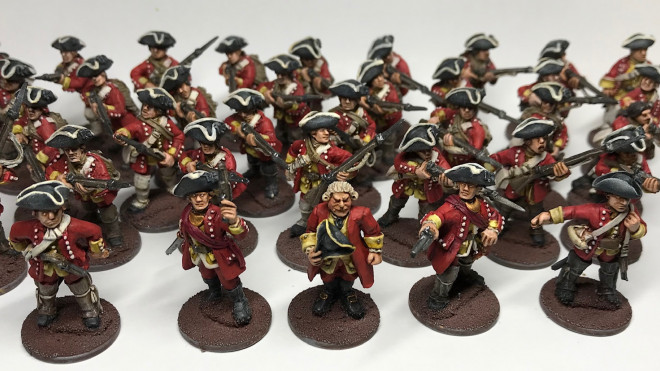 French and Indian War in 28mm