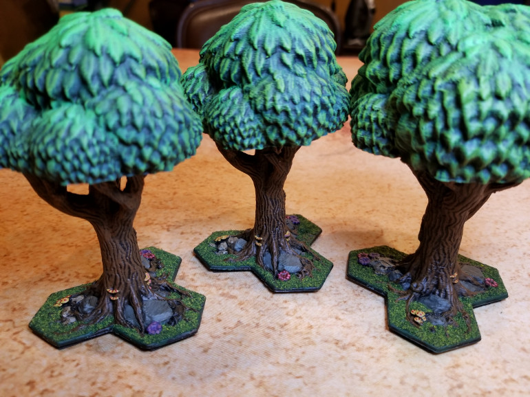 GLOOMHAVEN TERRAIN: TREES - finished