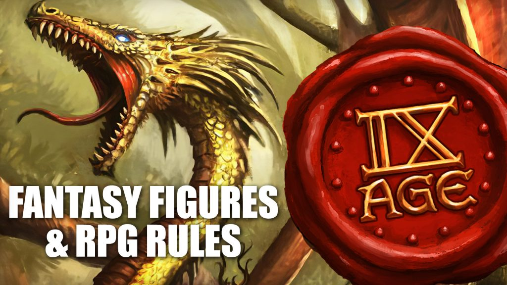 A Look Ahead to Fantasy Figures & RPG Rules from TMS