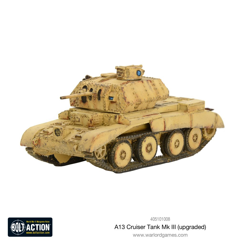 A13 Cruiser Tanks MK III (Upgraded) - Warlord Games