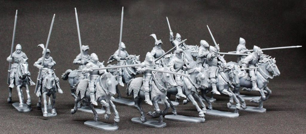 Agincourt Mounted Knights (Example) - Perry Miniatures