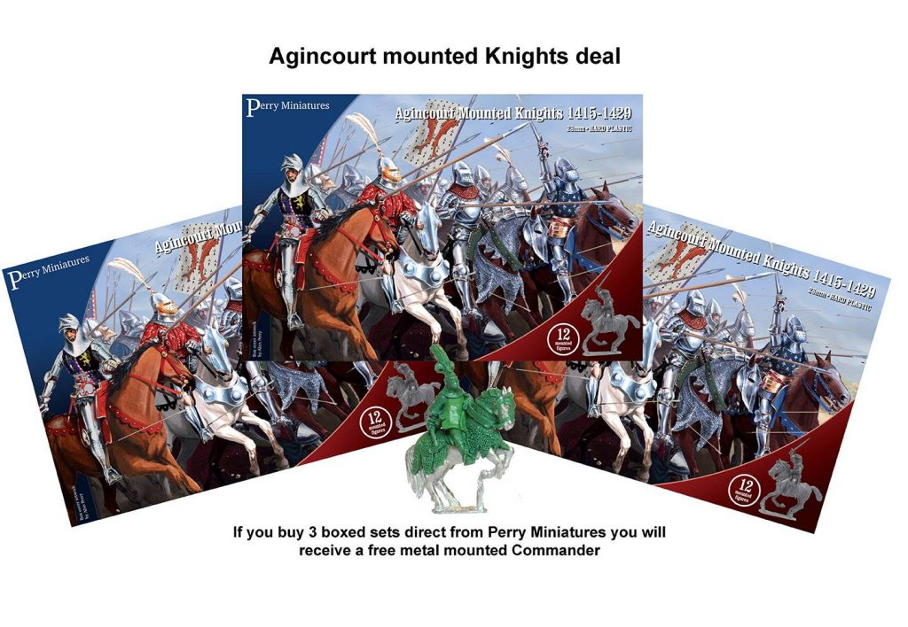 Agincourt Mounted Knights - Perry Miniatures