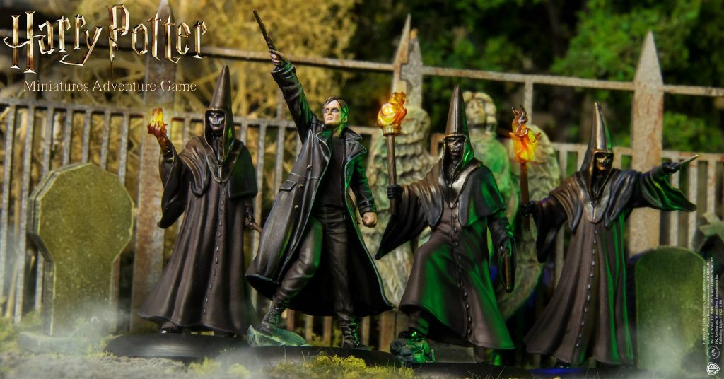 Barty Crouch JR & Death Eaters - Knight Models