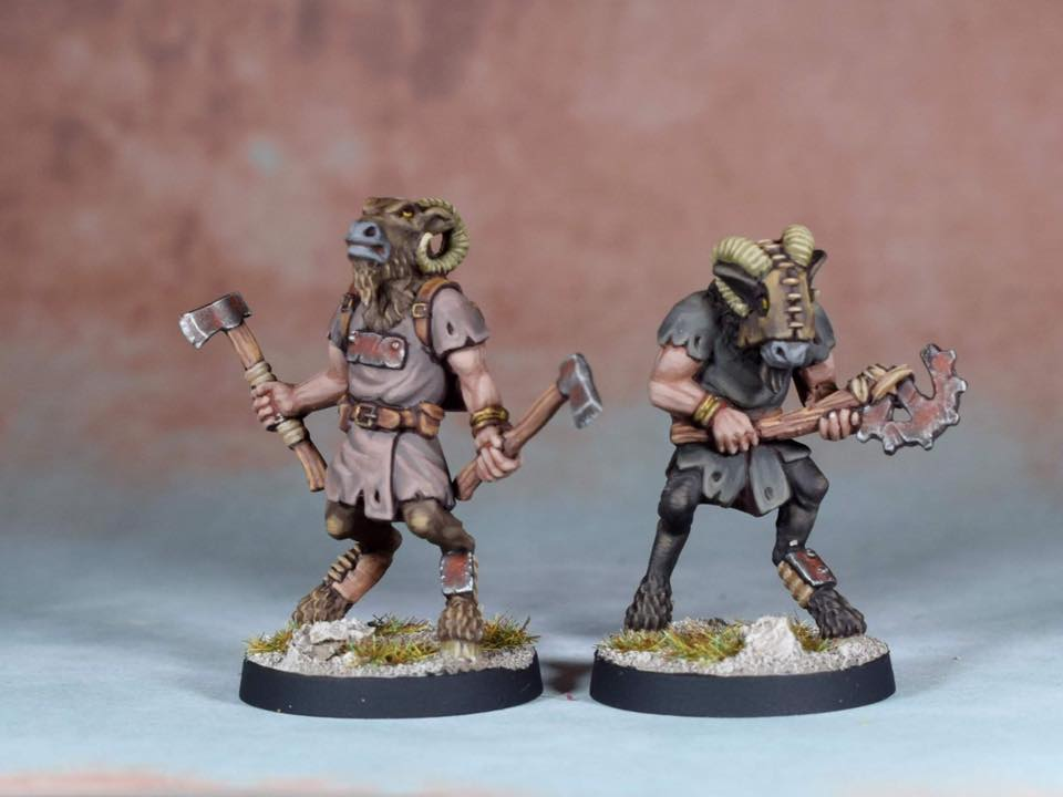 Beastmen - Crooked Dice