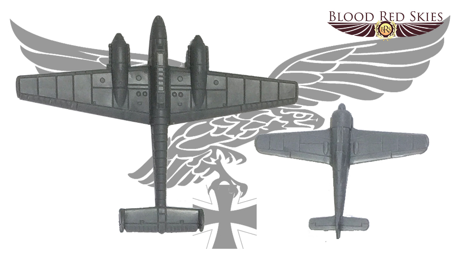 Blood Red Skies Plastic Planes - Warlord Games