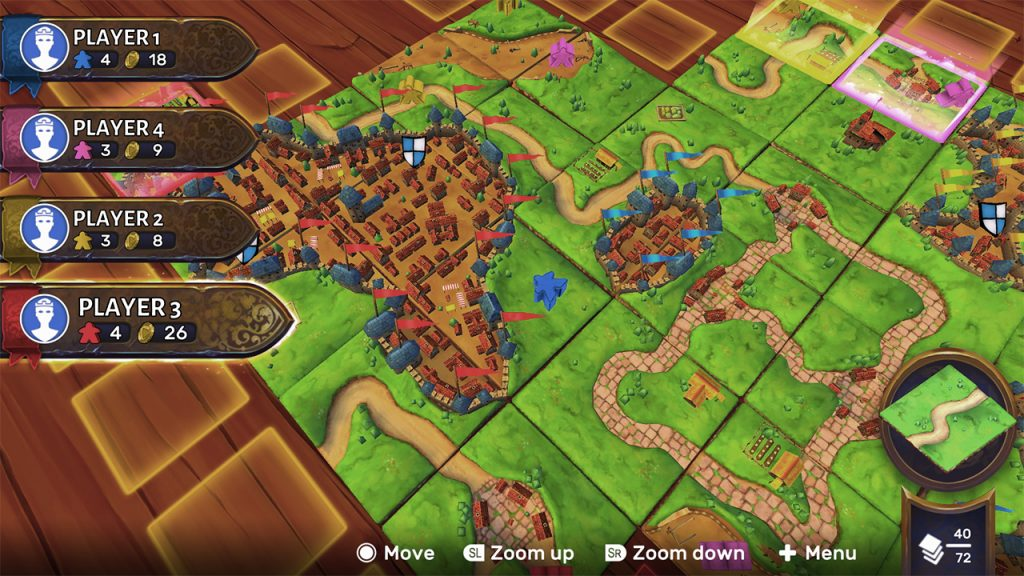 Carcassonne Screenshot - Asmodee Digital