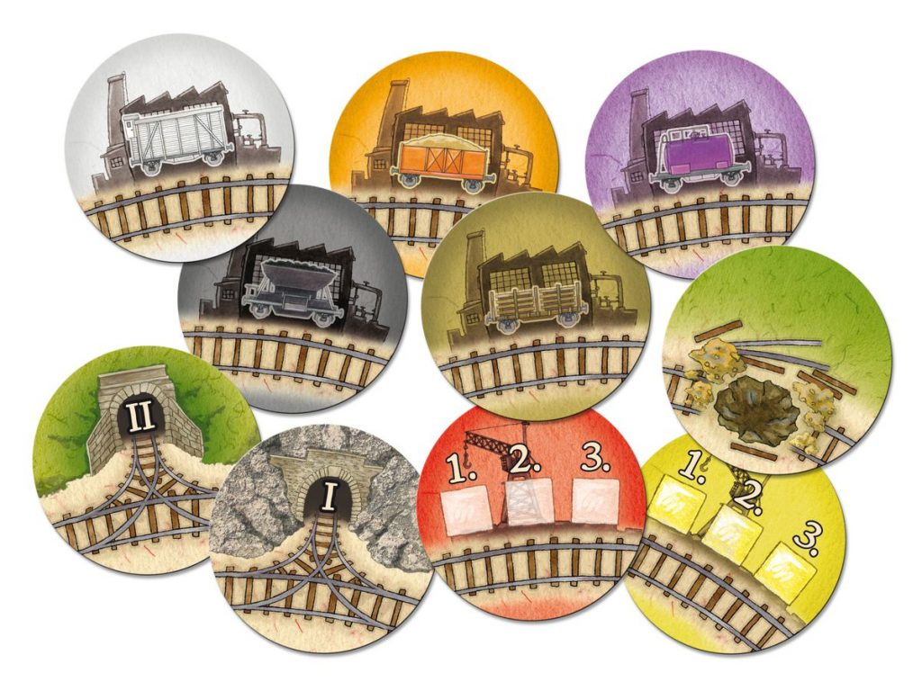 Cargo Express Tokens - Compass Games