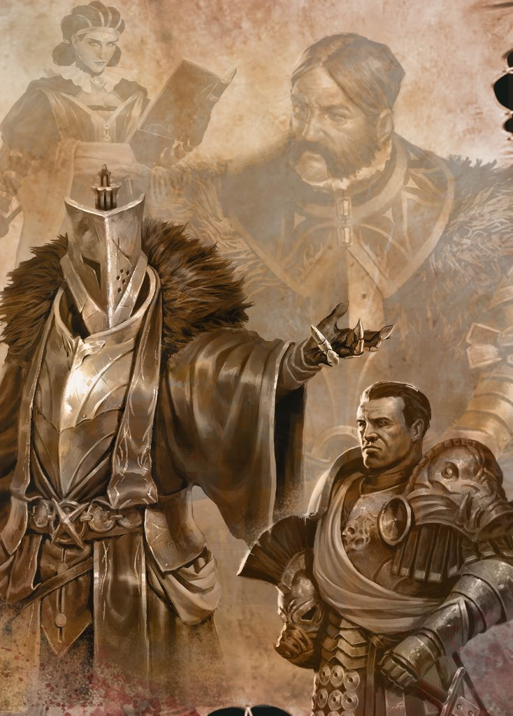 Characters In Conquest - Para Bellum Wargames