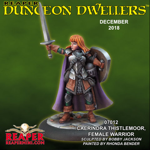 Dungeon Dweller December - Reaper Miniatures