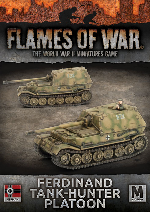 Ferdinand Tank-hunter Platoon - Flames Of War