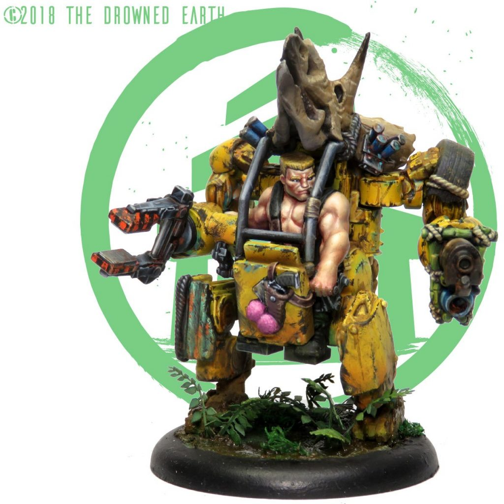 Forek Mounted Militia Leader - The Drowned Earth