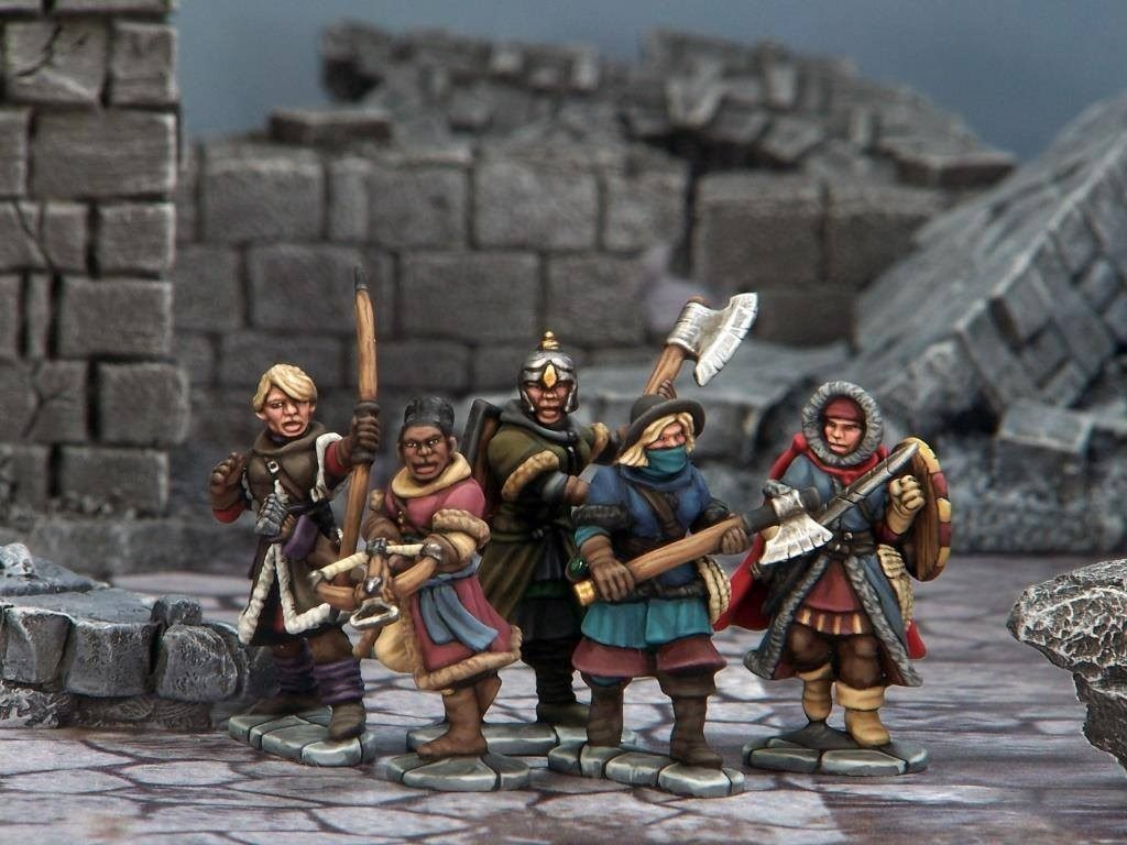 Frostgrave Female Plastic Kit - North Star