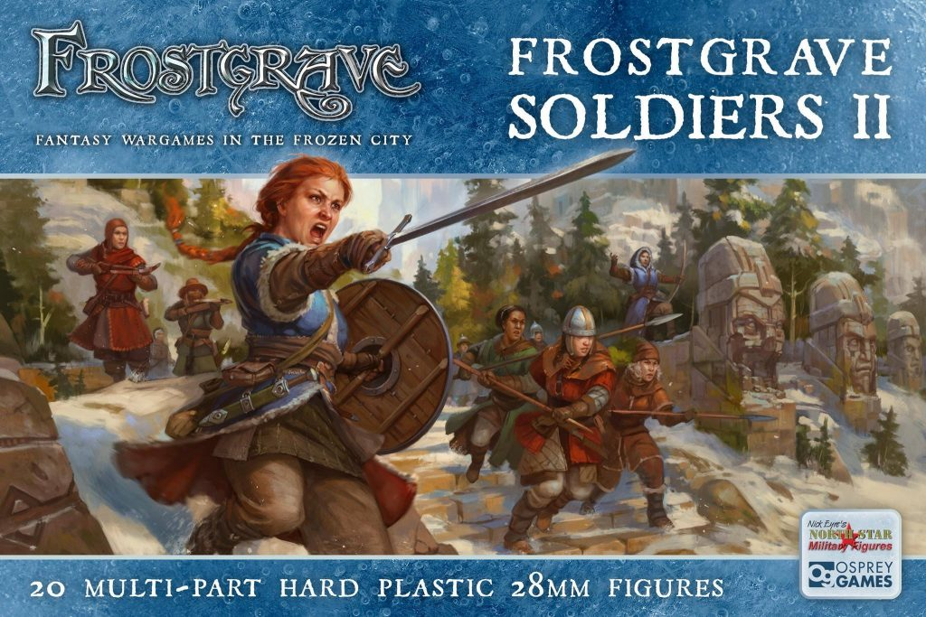 Frostgrave Female Soldiers Plastic Kit - North Star