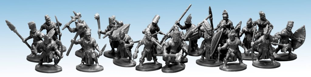 Frostgrave Ghost Archipelago Plastic Tribals - North Star