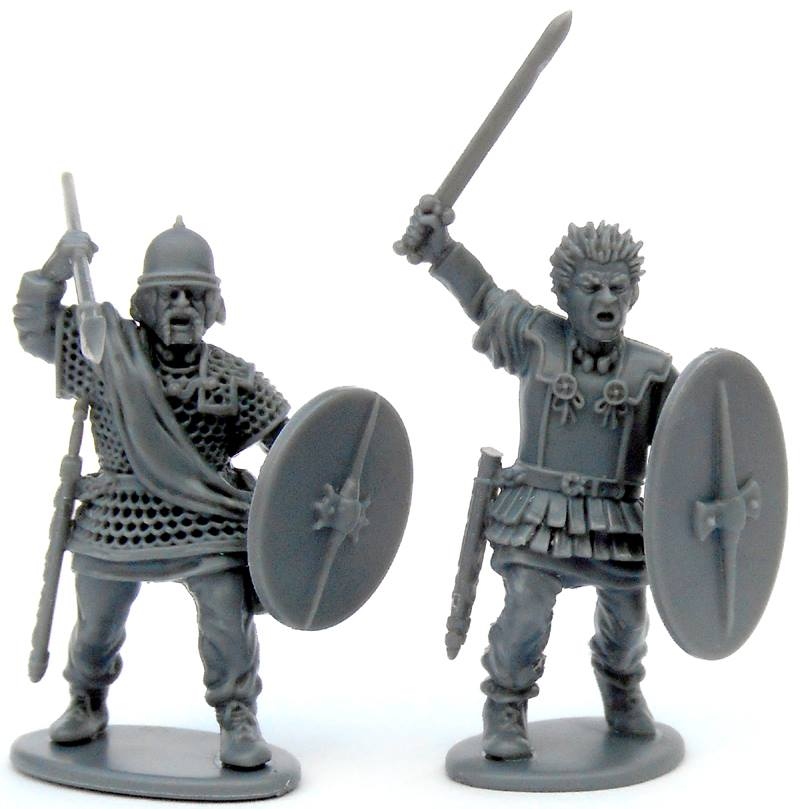 Gallic Armoured Warriors #1 - Victrix