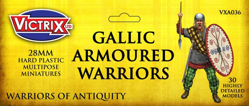 Gallic Armoured Warriors - Victrix