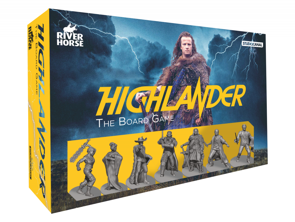 Highlander The Board Game - River Horse
