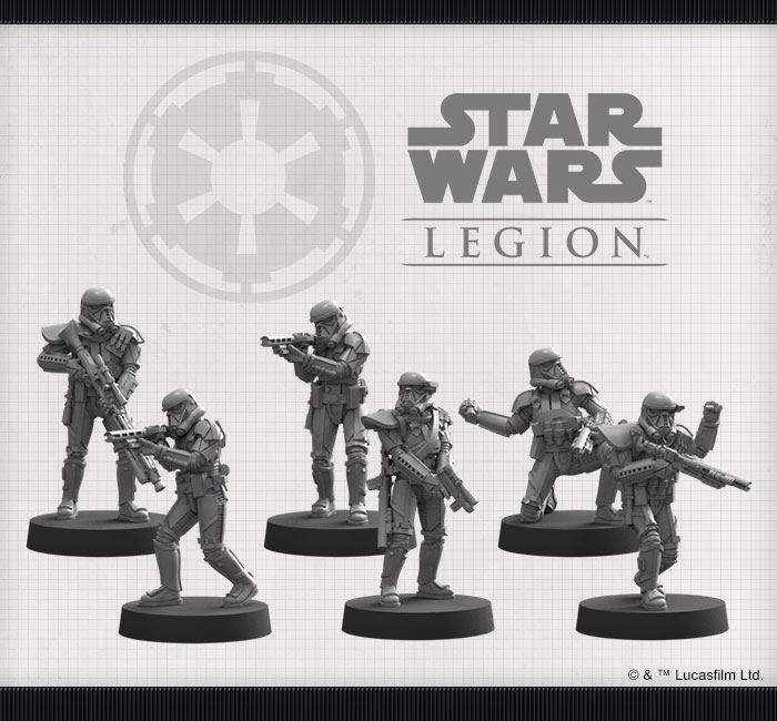 Imperial Death Troopers (Miniatures) - Star Wars Legion