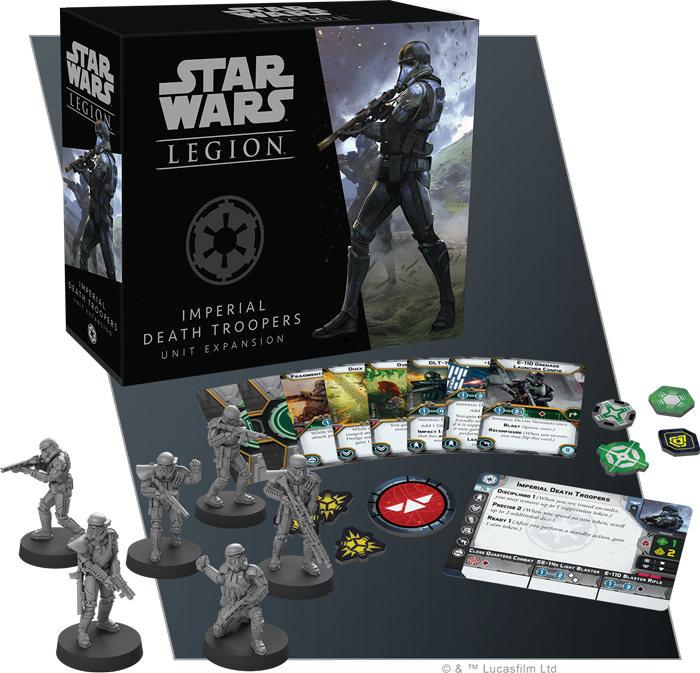 Imperial Death Troopers - Star Wars Legion