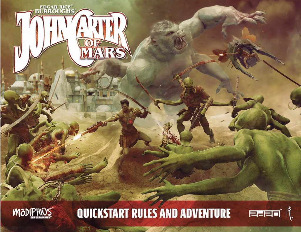 John Carter Of Mars Quickstarter Rules - Modiphius