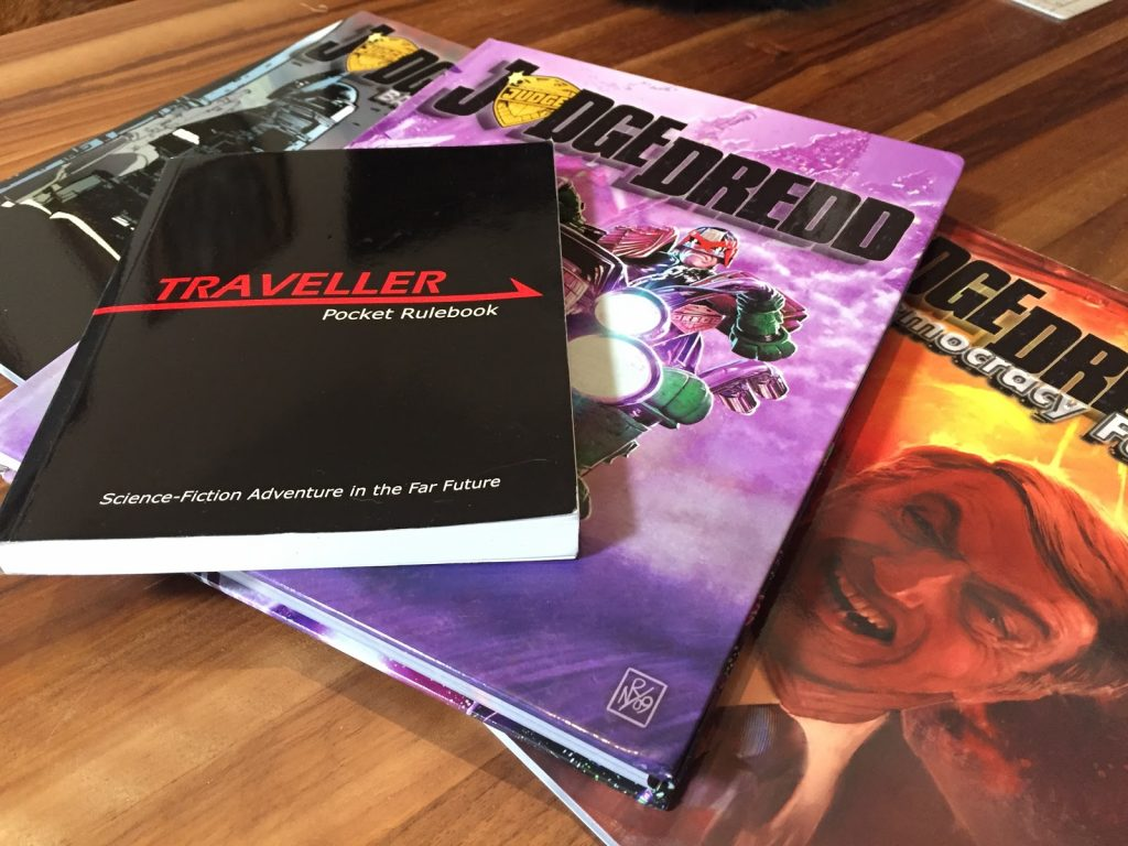 The Judge Dredd Roleplaying Game For Traveller