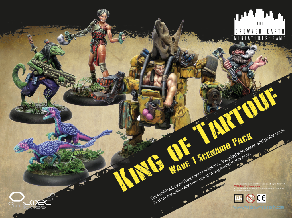 King Of Tartouf Scenario Pack - The Drowned Earth