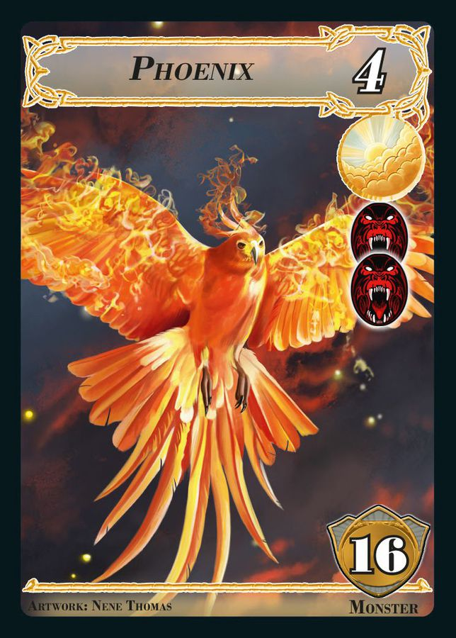 Phoenix Carnival Of Monsters - Richard Garfield